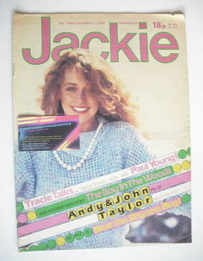 <!--1983-10-01-->Jackie magazine - 1 October 1983 (Issue 1030)