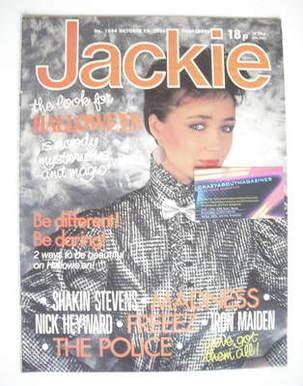 <!--1983-10-29-->Jackie magazine - 29 October 1983 (Issue 1034)