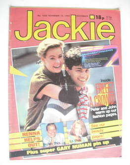 <!--1983-11-12-->Jackie magazine - 12 November 1983 (Issue 1036)