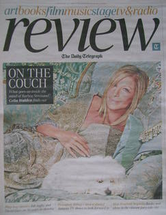 The Daily Telegraph Review newspaper supplement - 27 August 2011 - Barbra S