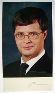 Jan Peter Balkenende autograph