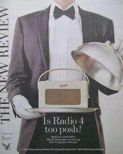 The New Review magazine - 18 January 2009 - Is Radio 4 Too Posh? cover