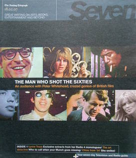 <!--2007-02-18-->Seven magazine - The Man Who Shot The Sixties cover (18 February 2007)