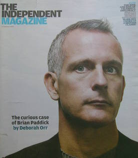 The Independent magazine - Brian Paddick cover (17 January 2009)