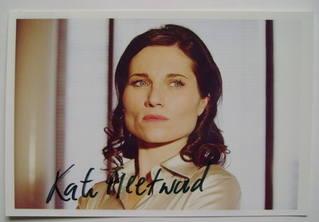 Kate Fleetwood autograph