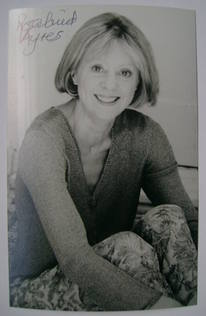 Rosalind Ayres autograph