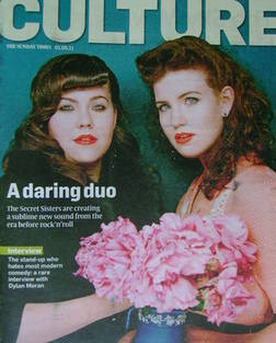 <!--2011-05-01-->Culture magazine - The Secret Sisters, Laura and Lydia Rog