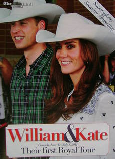 The Mail on Sunday William & Kate magazine supplement - Prince William and