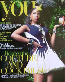 <!--2011-07-10-->You magazine - Jennifer Hudson cover (10 July 2011)
