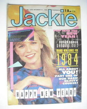 <!--1983-12-31-->Jackie magazine - 31 December 1983 (Issue 1043)