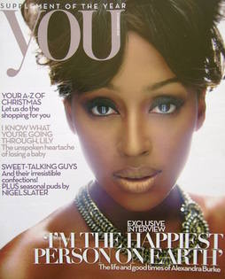 <!--2010-11-21-->You magazine - Alexandra Burke cover (21 November 2010)