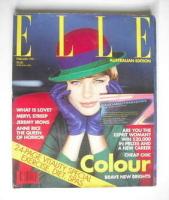 <!--1991-02-->Australian Elle magazine - February 1991 - Jenny Hayman cover