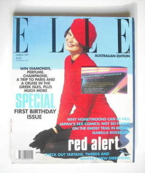 Australian Elle magazine - March 1991