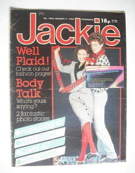 <!--1984-01-07-->Jackie magazine - 7 January 1984 (Issue 1044)