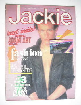 <!--1984-01-21-->Jackie magazine - 21 January 1984 (Issue 1046)