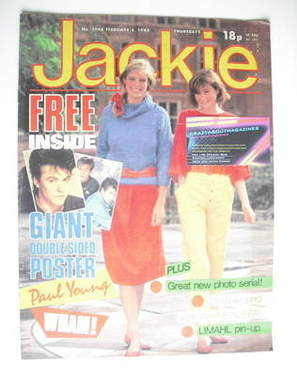 <!--1984-02-04-->Jackie magazine - 4 February 1984 (Issue 1048)