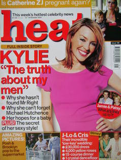 Heat magazine - Kylie Minogue cover (13-19 October 2001 - Issue 138)