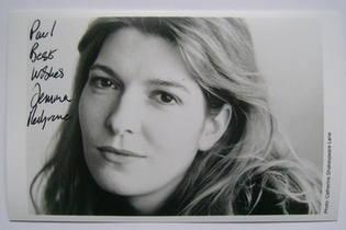 Jemma Redgrave autograph