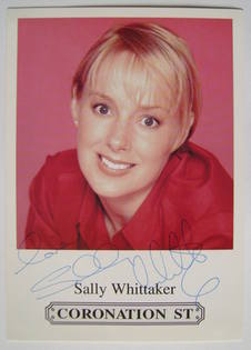 Sally Whittaker autograph