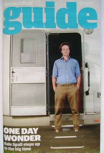 The Guardian Guide magazine - Rafe Spall cover (20 August 2011)