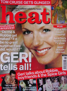 <!--2001-05-05-->Heat magazine - Geri Halliwell cover (5-11 May 2001 - Issu