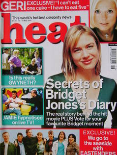 <!--2001-05-12-->Heat magazine - Renee Zellweger cover (12-18 May 2001 - Is