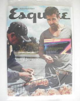 Esquire magazine - Colin Farrell cover (October 2011 - Subscriber's Issue)