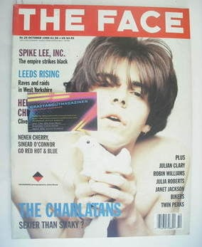<!--1990-10-->The Face magazine - Tim Burgess cover (October 1990 - Volume
