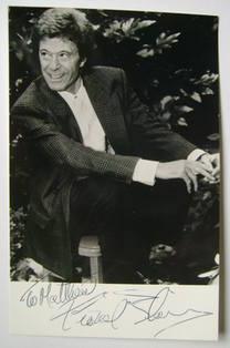 Lionel Blair autograph
