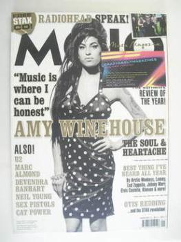 MOJO magazine - Amy Winehouse cover (January 2008)