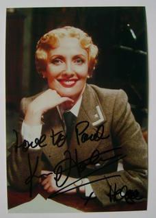 Kim Hartman autograph
