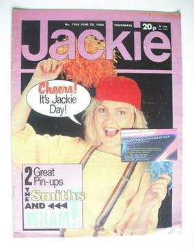 <!--1984-06-23-->Jackie magazine - 23 June 1984 (Issue 1068)