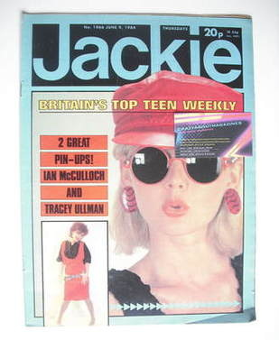 <!--1984-06-09-->Jackie magazine - 9 June 1984 (Issue 1066)