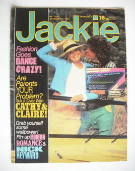 <!--1983-10-15-->Jackie magazine - 15 October 1983 (Issue 1032)