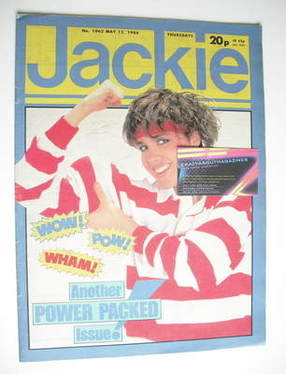 <!--1984-05-12-->Jackie magazine - 12 May 1984 (Issue 1062)