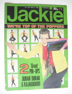 <!--1984-05-05-->Jackie magazine - 5 May 1984 (Issue 1061)