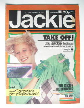 <!--1984-12-08-->Jackie magazine - 8 December 1984 (Issue 1092)