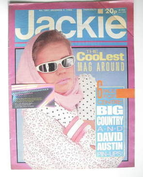 <!--1984-12-01-->Jackie magazine - 1 December 1984 (Issue 1091)