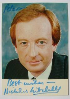 Nicholas Witchell autograph