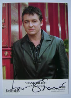 Shane Richie autograph (EastEnders actor)