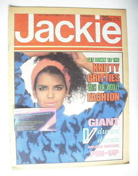 <!--1984-10-27-->Jackie magazine - 27 October 1984 (Issue 1086)