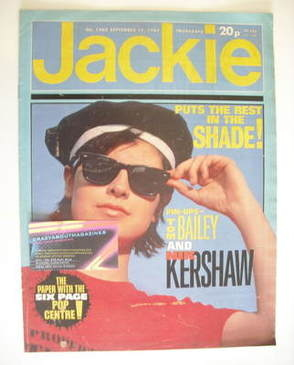 <!--1984-09-15-->Jackie magazine - 15 September 1984 (Issue 1080)
