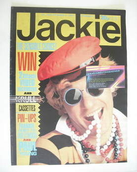 <!--1984-09-08-->Jackie magazine - 8 September 1984 (Issue 1079 - Captain S