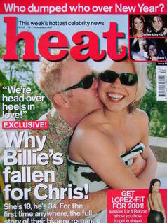 <!--2001-01-13-->Heat magazine - Chris Evans and Billie Piper cover (13-19
