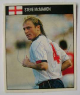 Steve McMahon autograph