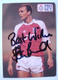 Steve Bould autograph
