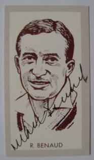 Richie Benaud autograph
