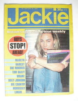 <!--1984-06-30-->Jackie magazine - 30 June 1984 (Issue 1069 - Marilyn cover