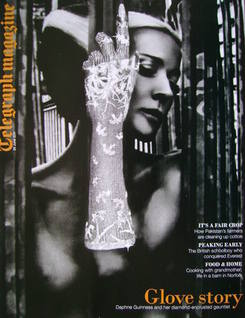 <!--2011-06-25-->Telegraph magazine - Daphne Guinness cover (25 June 2011)
