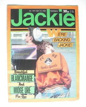 <!--1984-07-14-->Jackie magazine - 14 July 1984 (Issue 1071)